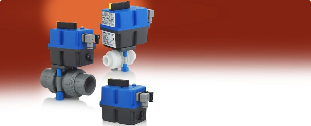 Electric Ball Valve Actuators For Plastic Valves